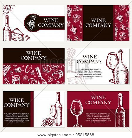 Wine Company Business Cards