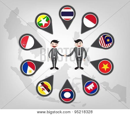 Partnership Between Asean Country (aec)