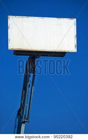 Billboard On Crane Boom