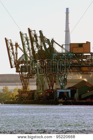 Detroit Area Steelmill