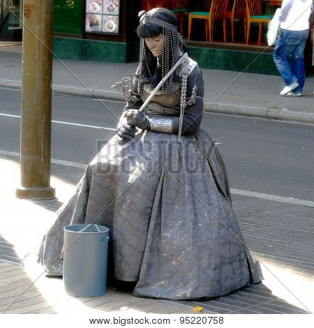Living Statues, Street Art
