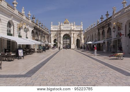 Place Stanislas In Nancy France