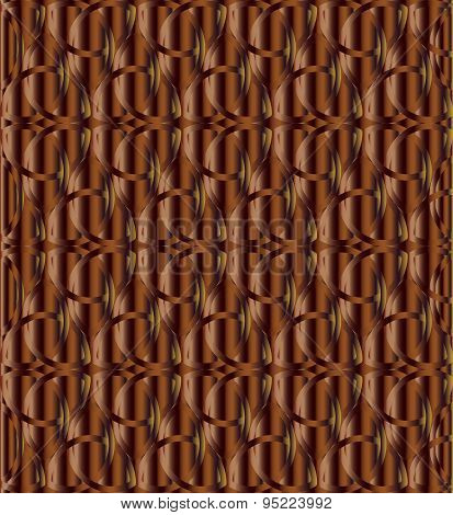 Chocolate Color Celtic Knot Background
