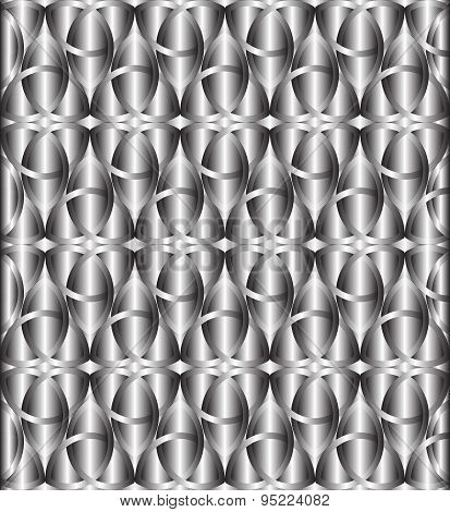 Silver Celtic Knot Background