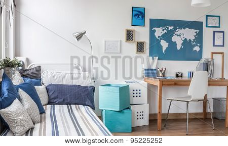Designed Room For Male Teenager