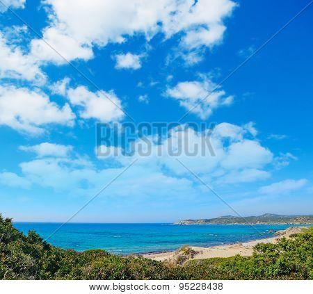 Rena Majore Shore Under A Cloudy Sky