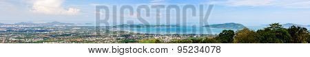 Panorama City And Sea Of Phuket Province