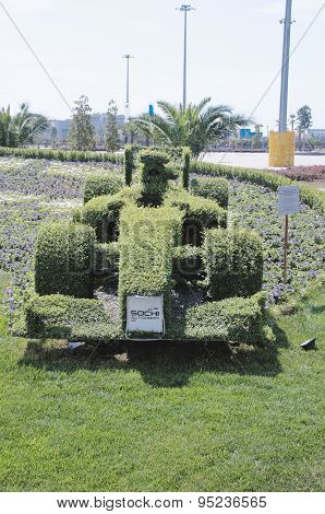 Topiary F1 bolide