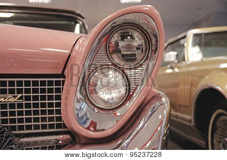 Head-light of Lincoln Continental