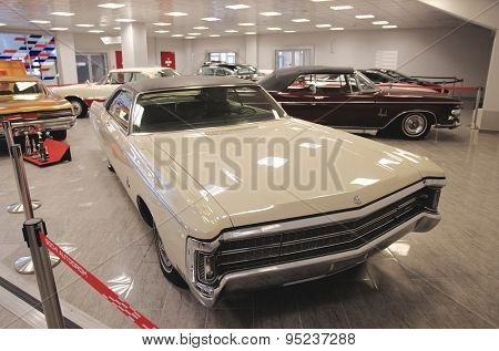 Chrysler Imperial in the Sochi Auto Museum