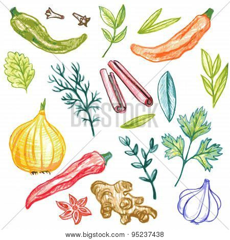 spice vector elements