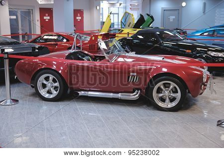 Sideview of AC Cobra