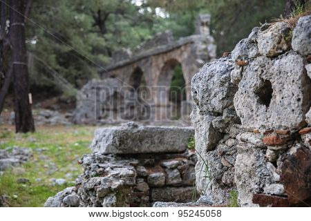 Phaselis Ruins In Turkey