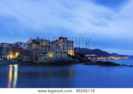 Boccadasse - Old Neighbourhood Of The Italian City Of Genoa