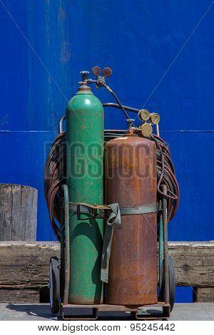 Acetylene welding equipment