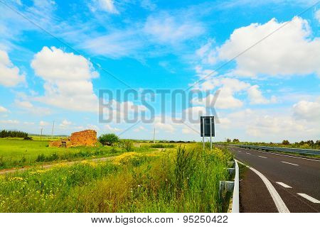 Road Under A Cloudy Sky