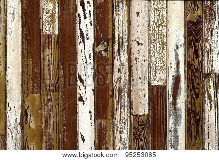 Old Grunge Wooden Ceiling