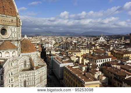 View On Florence In Italy