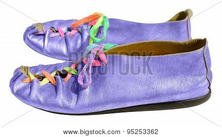 Ladies Fun Blue Shoes