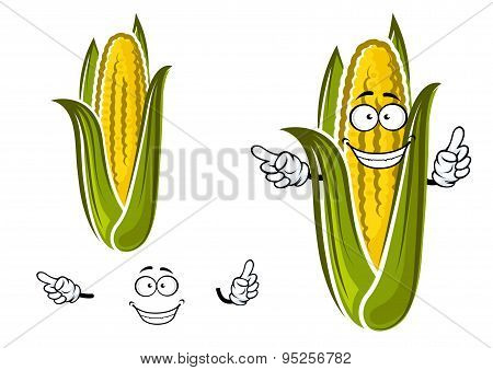 Sweet corn or maize vegetable character