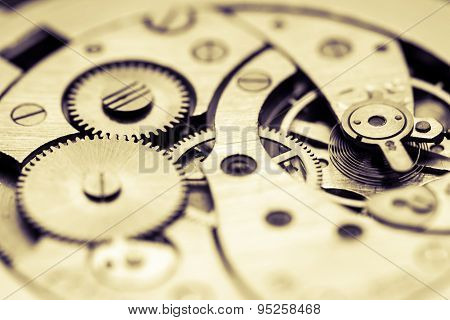 Mechanism of pocket watch