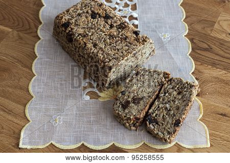 Healthy Vegan Loaf Of Bread