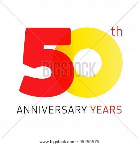 50 anniversary years logo