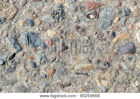 Loose stone background
