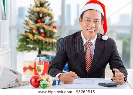 Working On Christmas Day