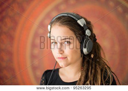 Girl With Dreadlocks