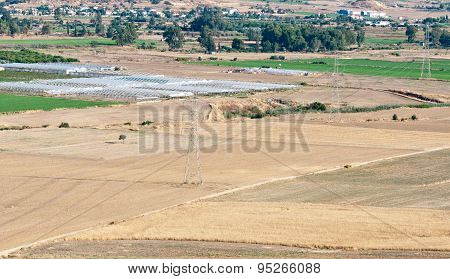 Agriculture Farmland After Harvesting