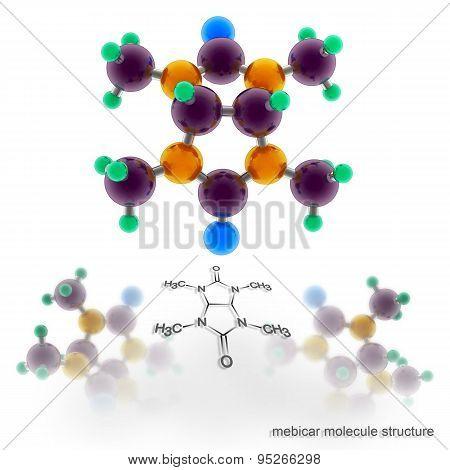 Mebicar Molecule Structure