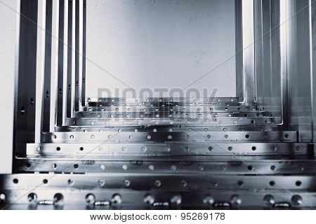 Abstract Metal Steps