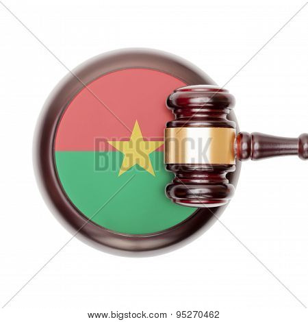 National Legal System Conceptual Series - Burkina Faso