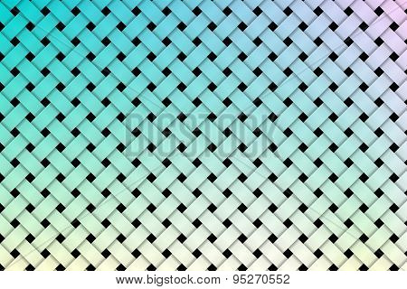Colorful weave pattern background