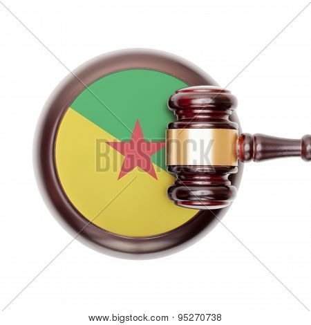 National Legal System Conceptual Series - French Guiana