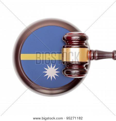 National Legal System Conceptual Series - Nauru