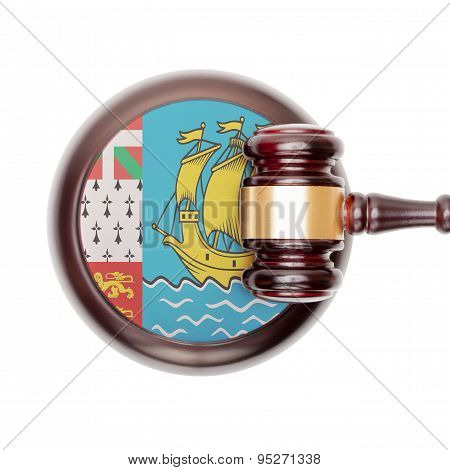 National Legal System Conceptual Series - Saint-pierre And Miquelon