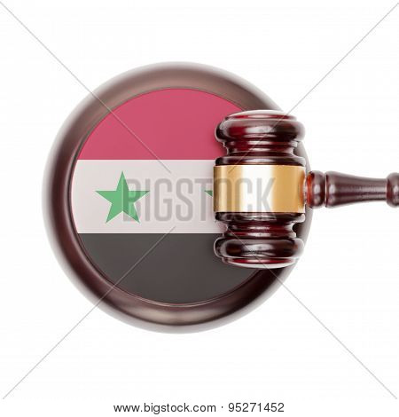 National Legal System Conceptual Series - Syria