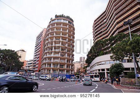 Architecture And Streets Of Monaco