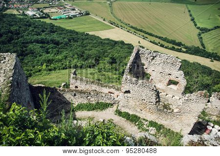 Ruins Of Plavecky Castle, Slovak Republic