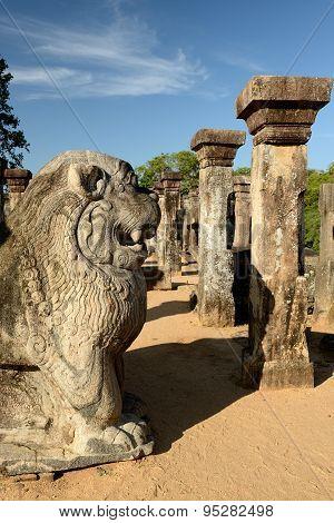Polonnaruwa Ruin, Nissanka Mallas Palace, Sri Lanka