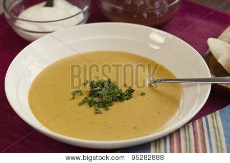 Puree Vegetable Soup