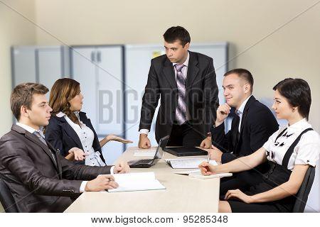 Tough meeting