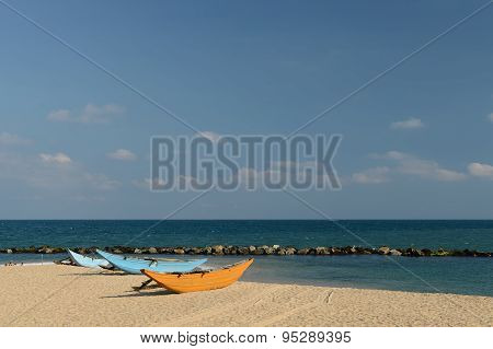Tangalle Beach In Sri Lanka