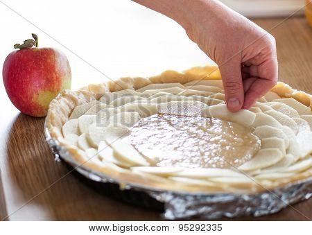Baking Apple Tart