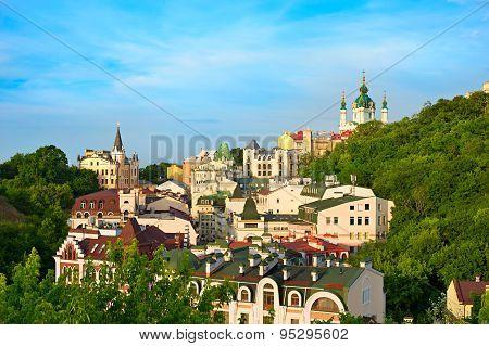 Andreevsky Descent, Kiev, Ukraine