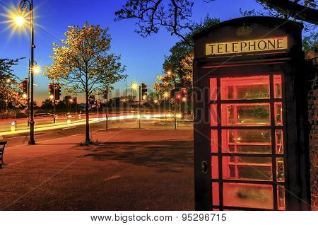 London Residential Red Phone Booth