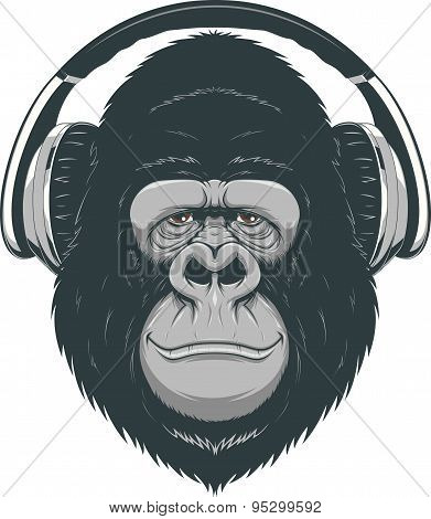 Happy ape