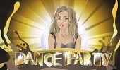 stock photo of ladies night  - Dance party - JPG